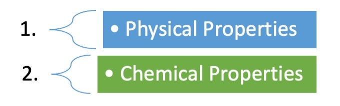 Examples of Physical Properties 1